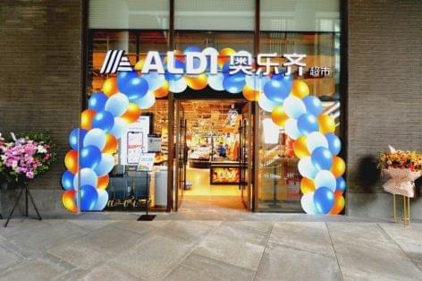 Megnyílt az Aldi 8. üzlete Kínában