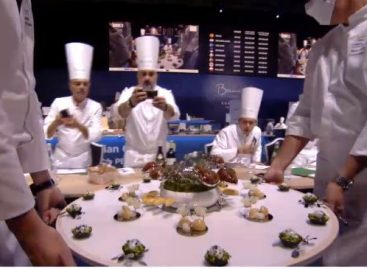 Pénteken versenyez Veres István a Bocuse d'Or európai döntőjében