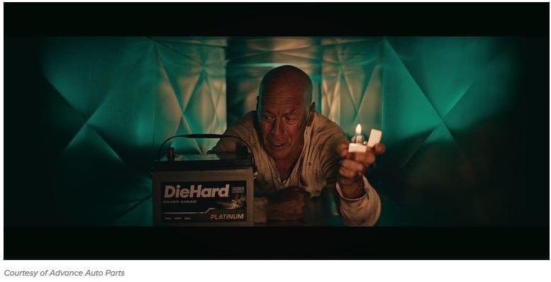 Bruce Willis akkumulátor reklám