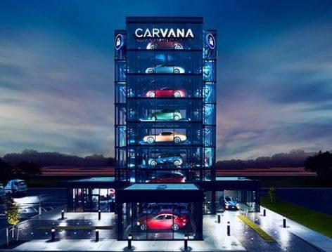 Autóautomata a Carvanatól