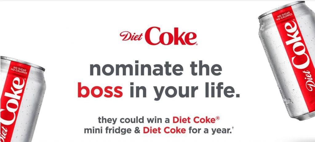Diet Coke nyereményjáték