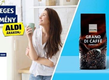 Különleges kávéélmény – az ALDI-val