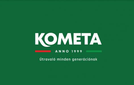 A Kometa termékportfóliója átalakult, valamint új arculattal és reklámfilmmel is jelentkezik