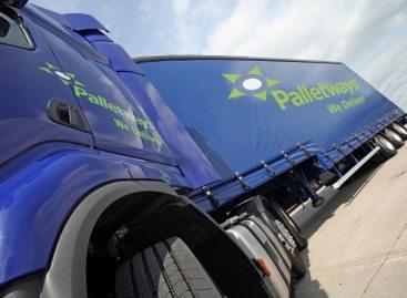 Elsőként vezet be fogyasztók számára is elérhető raklapos házhozszállítást a Palletways