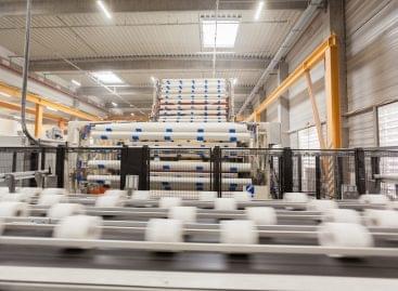 Innovatív környezetvédelmi beruházás a Vajda-Papírnál