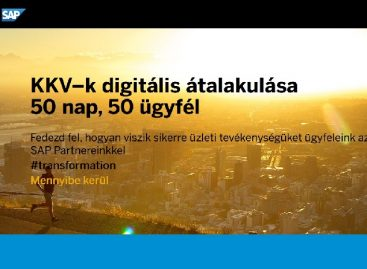 Hungarian SMEs are growing up for ERP implementation tasks according to SAP and its partners