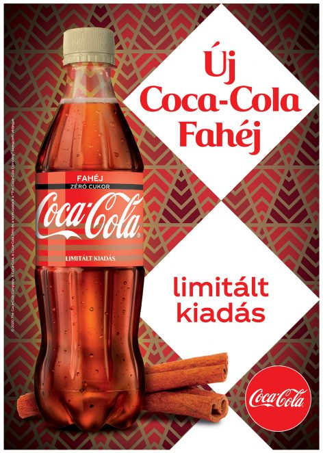 Christmas in a bottle: Have you tasted the new limited edition Coca-Cola Zero Cinnamon?