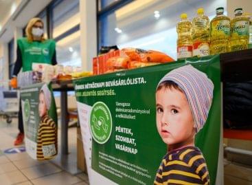 250 tonna tartós élelmiszer jut el a nélkülözőkhöz még karácsony előtt az Élelmiszerbank adománygyűjtése keretében