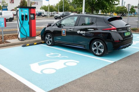 ALDI already handed over the 100th e-charger