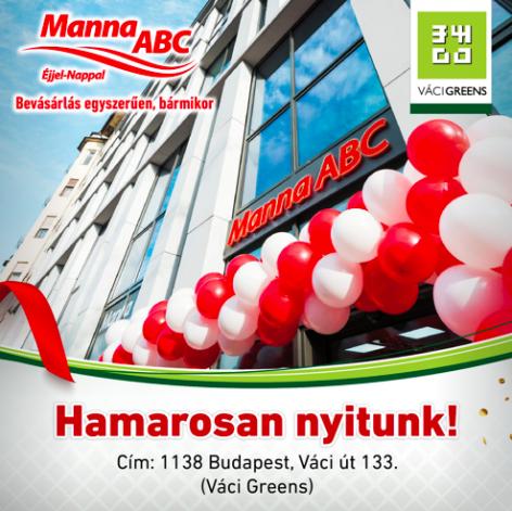 Újabb Manna ABC üzlet nyílt