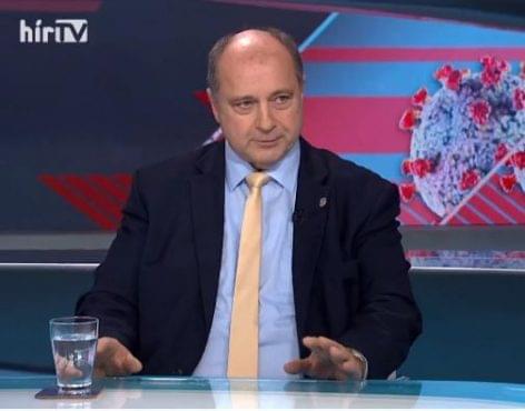 TV interjú a vendéglátás helyzetéről Kovács Lászlóval, az MVI elnökével