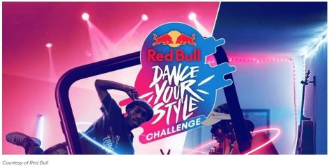 Red Bull dance competition on TikTok