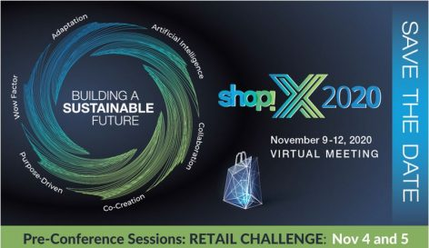 Shop!X 2020 – building a sustainable future