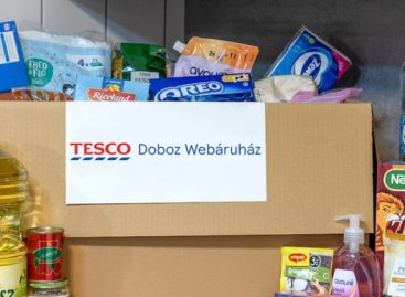 Tesco is expanding its online services under the name Tesco Box Webshop