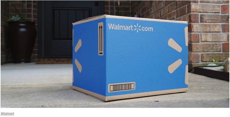 Walmart csomag