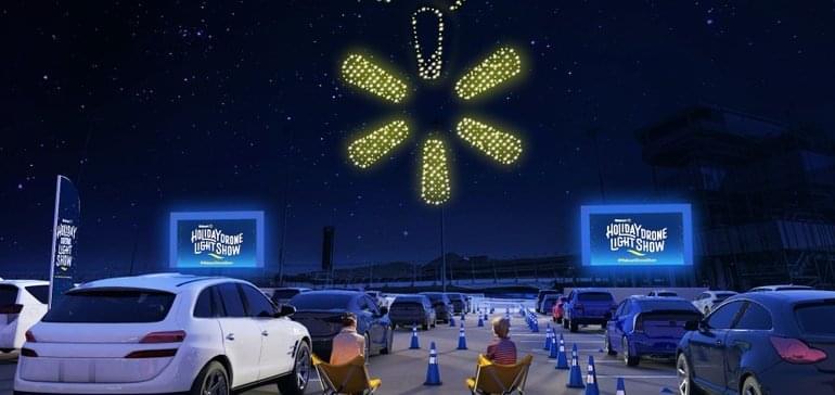 Walmart drón show