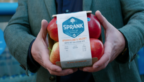 Albert Heijn Adds 'Sprank' Apple To Its Fruit Assortment