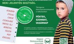 (HU) Országosan több mint 250 áruházban szervez Karácsonyi Adománygyűjtést az Élelmiszerbank