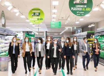 Mercadona: hatalmas befektetés a műanyagcsökkentés érdekében