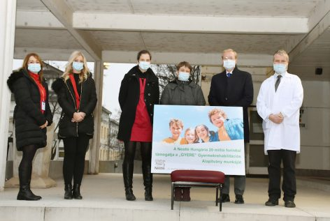 Nestlé supports the renovation of a children's hospital