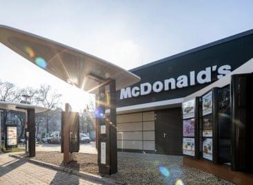 The newest McDonald's restaurant has opened in Békéscsaba