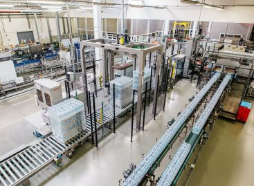 Coca-Cola HBC Magyarország increased its mineral water production capacity in Zalaszentgrót with an investment of 300 million HUF