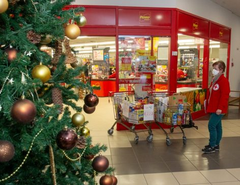 The Hungarian Red Cross's food collection campaign in mid-December was successful