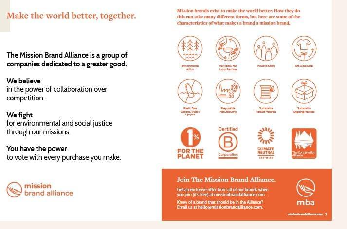 Mission Brand Alliance küldetés
