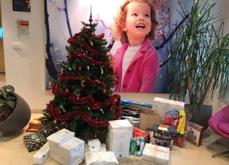 Idén is rászoruló gyermekek ünnepét varázsolják szebbé a P&G munkatársai