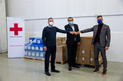 Hungarian Red Cross: disinfectant is one of the most useful gifts this Christmas