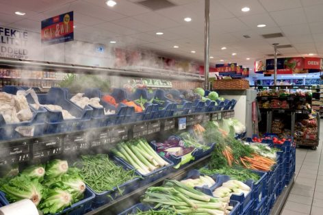 Dry Mist a Contronics-től: száraz párával tartják frissen a zöldségeket