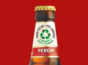 Visszaváltható sörösüvegek a Birra Perronitól