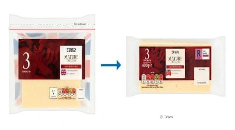 Tesco: új csomagolási koncepciók
