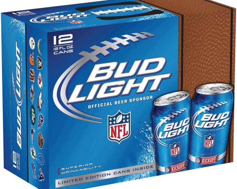 Bud Light az NFL hivatalos söre