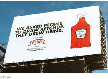 A Kraft Heinz Kanada ketchup rajzolásra biztat
