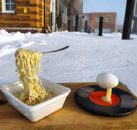 Breakfast in Novosibirsk – Picture of the day