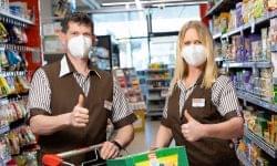 Ingyenes FFP2 maszkok a Spar Ausztriától