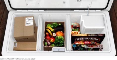 Walmart tests smart box that stores grocery orders