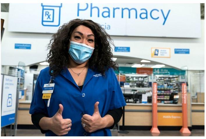Walmart egészségügyi vezető