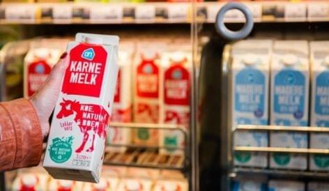 Kiterjeszti fenntartható tejellátó-programját az Albert Heijn