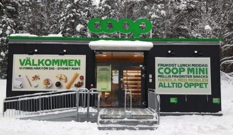 Megnyitotta első alkalmazott nélküli boltját a Coop Svédország