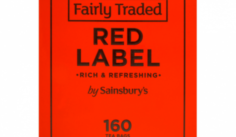 Sajátmárkás, növényi alapú teafilterek a Sainsbury's-től