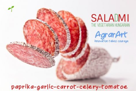 The new step to a healthy lifestyle is domestically-grown vegetable salami