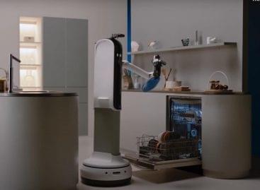 Valóságos áldás a Samsung új háztartási robotja – VIDEÓ