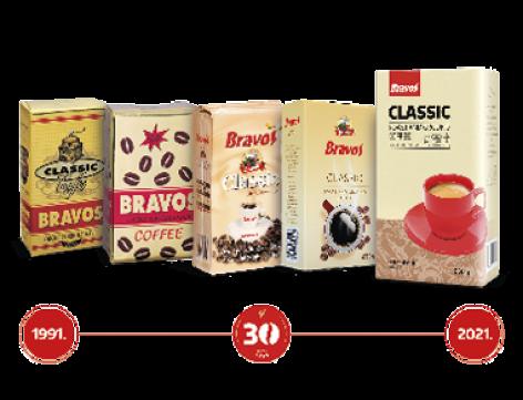 30 éves születésnapját ünneplia Bravos kávé