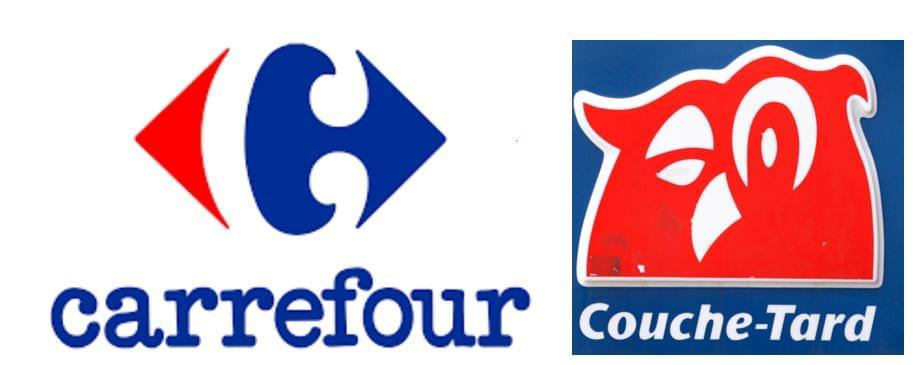 Carrefour és Couche-Tard logók