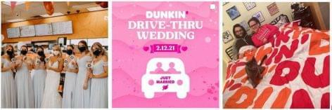 A Dunkin' Valentin napi ajánlata: Drive-thru esküvő