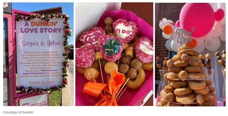 Dunkin' Valentin nap