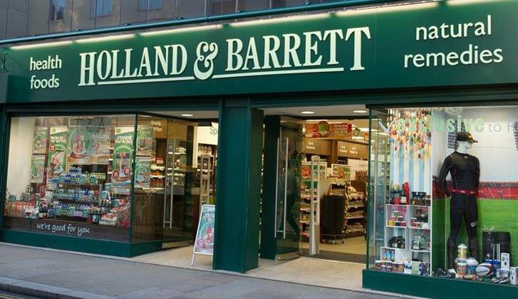 Holland & Barrett üzlet