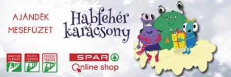 Sikeres Habfehér karácsony a SPAR-ban (Webshop promóciók a Magyar Termék ajándékaiért)